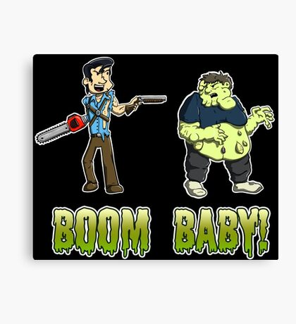 Boom Baby! Canvas Print
