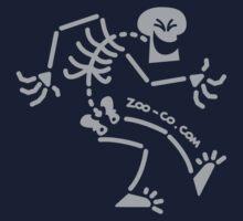 Naughty Skeleton One Piece - Short Sleeve