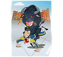 Bullfighter Poster