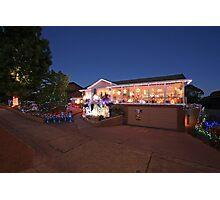 Christmas Lights, Duffy ACT Photographic Print