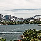 Sydney Opera House from Taronga Zoo by 28aboveSea