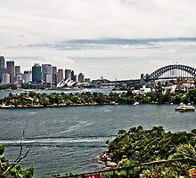Sydney Opera House from Taronga Zoo by 28aboveSea
