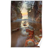Dripstone Stepping Stones Poster