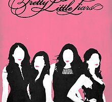 Pretty Little Liars minimal poster by Zoe Toseland