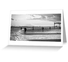 Afternoon at the Beach, Bognor Regis Greeting Card