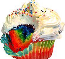 Rainbow Cupcake by suburbia
