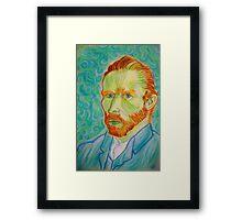 Vincent Van Gogh...  i love this genius Framed Print