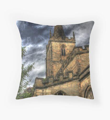 Bosworth church Throw Pillow