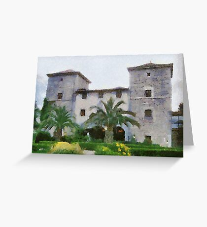 Torre de Ruesga, Cantabria, Spain Greeting Card