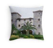 Torre de Ruesga, Cantabria, Spain Throw Pillow