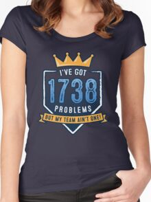 1738 Problems Women's Fitted Scoop T-Shirt