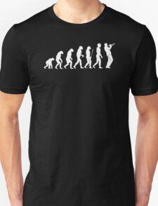 Evolution Trompeter Musik Musiker Instrument Trompete Trumpet Konzert T-Shirt