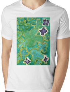 Ground Cover by Margo Humphries Mens V-Neck T-Shirt