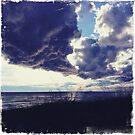 Clouds over Mackinaw by burbskate