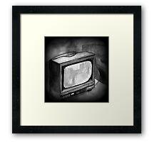 TV 000 Framed Print