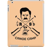 Rons canoe camp iPad Case/Skin