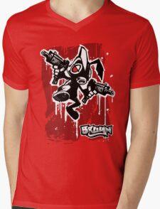 Bruyn - Graf 05 Rabbit RVB Mens V-Neck T-Shirt