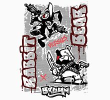 "Bruyn Graf 07 - Rabbit versus Bear ""Battle"" Unisex T-Shirt"