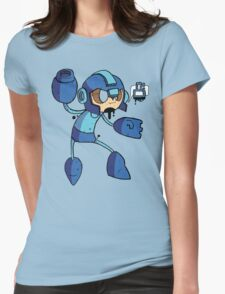 Blue Bomber Womens Fitted T-Shirt