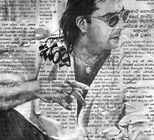 Sanjay Datt by Channa Gorokgahagoda