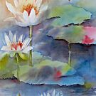Pond Dancers 2 by bevmorgan