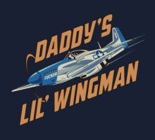 Daddy's Little Wingman Kids Tee