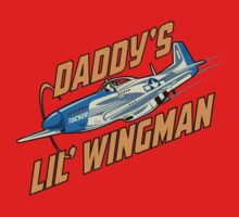 Daddy's Little Wingman One Piece - Short Sleeve