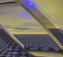 Cubed Spacewarp DC by Sazzart