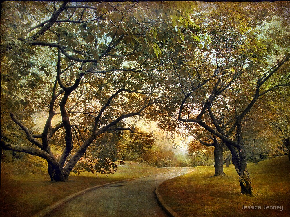 Autumn Orchard by Jessica Jenney