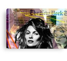 kate moss and biggie Canvas Print