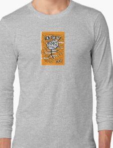 HAPPY STICKMAN Long Sleeve T-Shirt