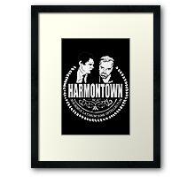 Harmontown Framed Print