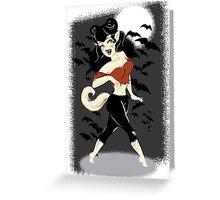 Wynnie Werewolf Greeting Card