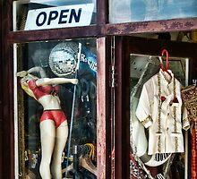 Rock Follies ~ Charmouth by Susie Peek