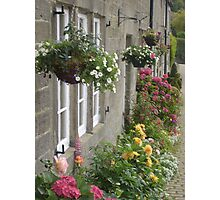 Flower Cottage - High Bradfield, Yorkshire  Photographic Print