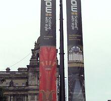 Downtown Glasgow by Patty Gross