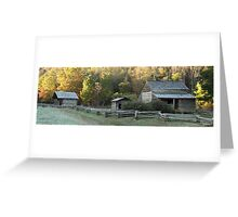 Cades Cove Farm Greeting Card
