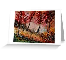 in the wood 451190 Greeting Card