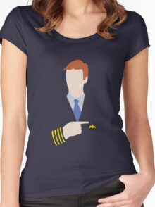 Sir Captain Martin Crieff Women's Fitted Scoop T-Shirt