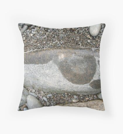 Case of (stone) cold feet... Throw Pillow