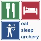 Eat Sleep Archery by EatSleep