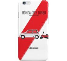 Honda City Turbo & Motocompo iPhone Case/Skin