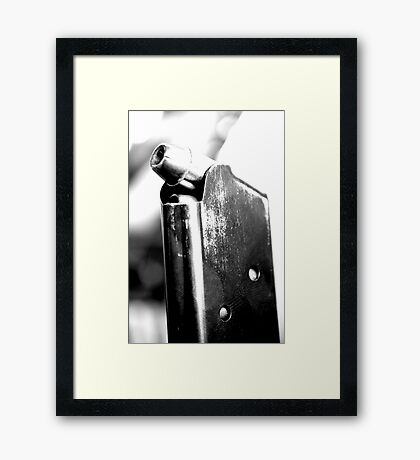 Cold Trigger  Framed Print