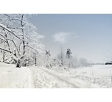 Winter Cold Photographic Print