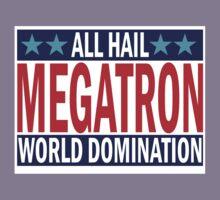 Megatron Campaign for World Domination Kids Clothes