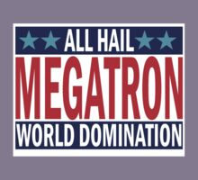 Megatron Campaign for World Domination Kids Tee