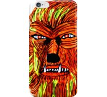 BEWARE THE WEREWOLF iPhone Case/Skin