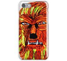 BEWARE THE WEREWOLF iPhone Case/Skin