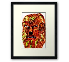 BEWARE THE WEREWOLF Framed Print