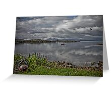 Camusterrach Bay Greeting Card